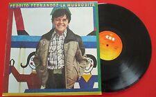 """PEDRITO [Pedro] FERNANDEZ """"La Mugrosita"""" **Diff COVER** ORIGINAL 1980 Spain LP"""