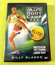 Billy's Boot Camp Elite Lower Body Mission ~ New DVD Video ~ Exercise Workout