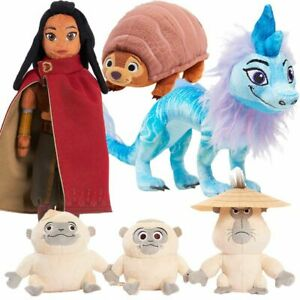 Raya and The Last Dragon Sisu Plush Toys Stuffed Doll Kids Birthday Gift New