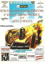 BOLOGNA - PASSO della RATICOSA_8° RIEVOCAZIONE STORICA per AUTO D' EPOCA _1995