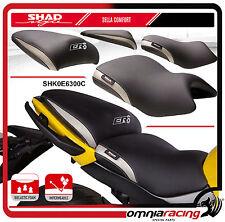 Shad Asiento Comodidad Negro para Kawasaki ER6N ER6F 2012 >