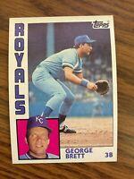 1984 Topps  #500 George Brett Kansas City Royals  NrMt