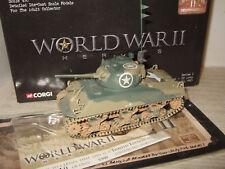 Corgi CC51006 M4A3 Sherman Tank US Army, 2nd Armd Div, Sicily 1943 in 1:50 scale