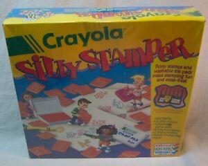 Crayola SILLY STAMPER Art Stamp Set NEW in Shrink wrap 1995