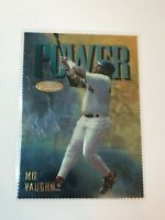 """F57897  1997 Finest Embossed #153 Mo Vaughn """"Rare: RED SOX"""