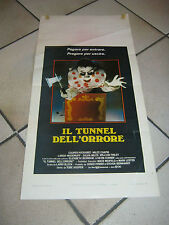 locandina IL TUNNEL DELL'ORRORE TOBE HOOPER THE FUNHOUSE 1981