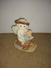 Dreamsicles New Found Friend Signed 2001 Kristin Haynes Cherub Sea Turtle