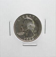 1963 Us Mint Silver Washington Proof Quarter 25 Cent Coin
