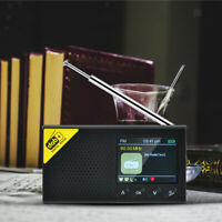 Digitaler tragbarer DAB / FM Radio Bluetooth Lautsprecher, Akku Kompaktradio