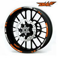 Motorcycle Rim stripes Decals 17inch Wheel Sticker Reflective Tape For KTM DUKE@