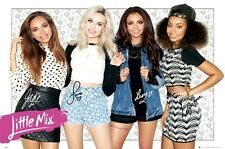 LITTLE MIX ~ HEARTS 24x36 MUSIC POSTER Perrie Edwards Jesy Nelson Leigh Jade