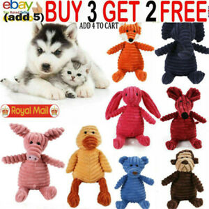 Funny Pet Dog Puppy Chew Toy Squeaker Squeaky Soft Plush Play Sound Teeth Tosx