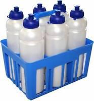 Basket bench + 6 Water bottles 1 Liter Football Volleyball Sport various