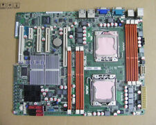 1PC Used ASUS Z8NA-D6C Dual 1366 Server Board supports the L5600 series