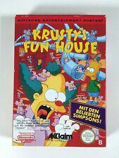 Nintendo NES * The Simpsons Krusty's Fun House * PAL B (NoE) with OVP CIB