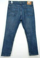 Levis Mens 511 2380 Medium Blue Work Stretch Slim Fit Denim Jeans Size 36 x 32