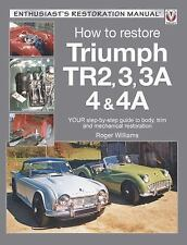 How to Restore Triumph TR2, 3, 3A, 4 & 4A: Your step-by-step guide to body, trim