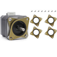 Edelstahl Stepper Motor Vibration Damper Stoßdämpfer Set Für 3D Drucker Nema 17