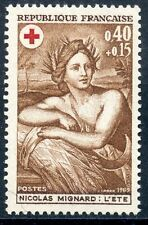 STAMP / TIMBRE FRANCE NEUF LUXE N° 1619 ** croix rouge TABLEAUX NICOLAS MIGNARD