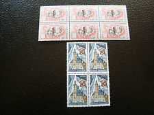 FRANCE - timbres yvert et tellier n° 1933 x4 1985 x6 n** (Z7) french