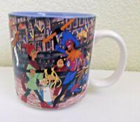 Disney The Hunchback of Notre Dame Coffee Mug Esmeralda Quasimodo Vintage 1990's
