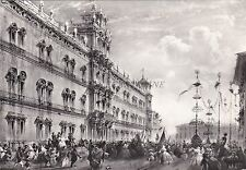 MODENA - Ottocento - Manifestazione Patriottica (Pittore Bossoli 1860) 1961
