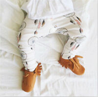 Kids Baby Animal Pattern Harem Pants Toddler Boys Girls Bottom Trousers Leggings