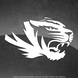 """Missouri Tigers Logo Vinyl Decal Sticker - 4"""" and Up - More Colors!"""