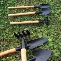 3Pcs/Set Mini Garden Portable Shovel Tools Set Shovel Rake Spade Garden Plant MA