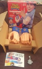 1988 Kenner Police Academy Handcuffers Zed Wacky Role Playing Toy Handcuffs Rare