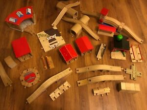 Selection of Accessories for Brio / Wooden Train Track with Combined Post