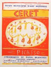 "Pablo PICASSO montato Mourlot litografia 1959 affiches ORIGINALES 14 x 11"" AO92"