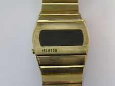 Vintage Helbros LED Watch 1970's Working