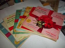 ORIGINAL Firestone Christmas RECORDS Albums   7 lp Set ALL Volumes 1 Thru 7