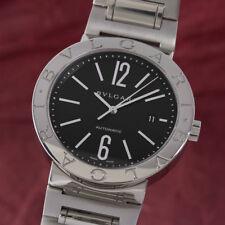 Bvlgari bulgari diagono acero Automatik reloj hombre ref. bb42ss VP: 6550,- €