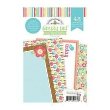 DOODLEBUG DESIGN SIMPLY PUT 4X6 ALBUM INSERTS FLOWER BOX