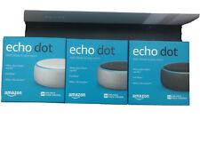 Amazon Echo Dot 3rd Gen with Alexa Voice Media Device - Charcoal/Gray/White