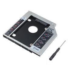 Universal 6Gbps 2nd 9.5mm Slim SATA HDD SSD Hard Drive Caddy Bay To SATA Adapter