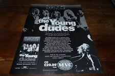 ALL THE YOUNG DUDES - Publicité de magazine / Advert ANTHOLOGY !!! UK