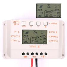 10A LCD MPPT Solar Laderegler Solarregler Solarpanel Controller 12/24V Regulator
