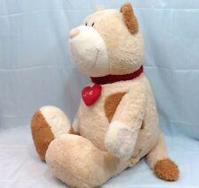 NICI - Dolcissima gatta con cuore in peluche di cotone - cm.120-seduto cm. 85/95