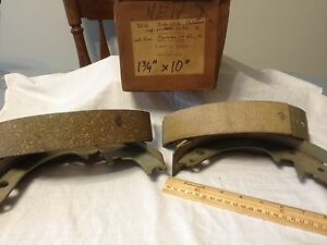 Hudson, Rambler, Nash, 1 3/4 inch, NOS rear brakes, axel set.  1645