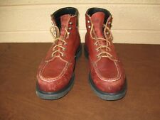 Vintage RED WING Leather Sport Work Boots  9 D