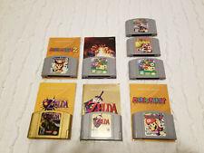 Mario! Zelda! Lot of 8 awesome Nintendo 64 games!