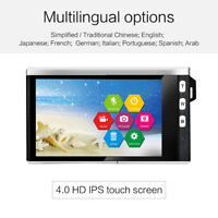 "4.0"" 12X Optical Zoom 1080P HD IPS Digital SLR 24MP Camera Video Recorder Office"