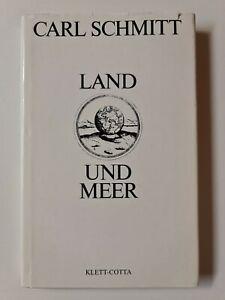 Land und Meer / Carl Schmitt / Klett-Cotta Verlag / Buch