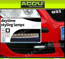12v Car Cruise Lite Ice White LED Daytime Running Styling DRL Lamps Lights. 0379