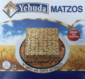 Yehuda Matzos Traditional Kosher for Passover 300g Matza Matzot Pesach Jewish
