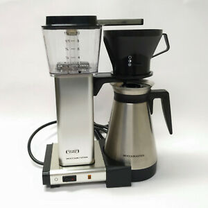 TECHNIVORM Moccamaster KB 10 Cup Coffee Machine w/ Thermal Carafe Excellent!