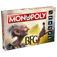 The Big Friendly Giant 'Bfg' Monopoly Board Game Brand New Gift